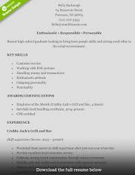 how to write a perfect retail resume examples included retail resume bella