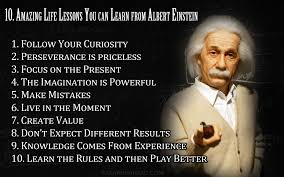 Art Quotes: Collected Quotes From Albert Einstein In Ten Quotes via Relatably.com
