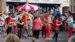 Circus fun thrills crowds at Wiveliscombe Street Market and Carnival
