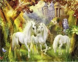<b>Beibehang Custom Wallpaper European</b> Style Forest White Horse ...