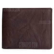 <b>JOYIR</b> 2031 Fashion Leather <b>Men Wallet</b> | Gearbest Mobile