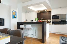 Kitchen Bar Table And Stools Modern Kitchen Bar Table White Gloss Wood Countertops Grey Wood