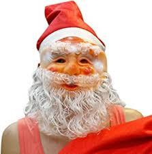 Santa & Mrs. Claus - Decorative Masks / Decorative ... - Amazon.com