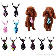 New Adjustable Dog Cat Pet Tie Puppy Toy <b>Grooming</b> Silk Tie ...