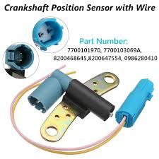 <b>7700101970</b> 7700103069A Crankshaft <b>Crank Position Sensor</b> For ...