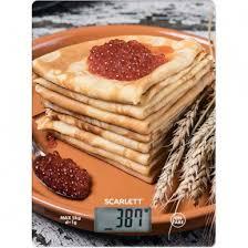 <b>Весы кухонные SCARLETT</b>, <b>SC - KS57P45</b>, электронные, 5кг