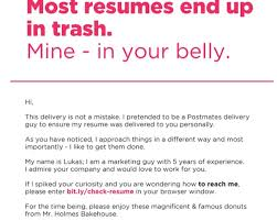 breakupus marvelous resume web development and design breakupus magnificent clever guy landed job interviews by hiding resume in a box of astounding