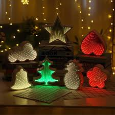 LumiParty 3D <b>Creative Cloud</b> Stars Cute Heart Night <b>Light</b> Led ...