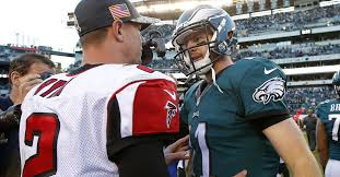 Previewing Carson Wentz vs. Matt Ryan in Week 2 - Bleeding Green ...