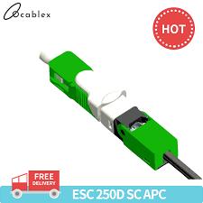 <b>Free Shipping 50, 100PCS</b>/Lot FTTH ESC250D SC APC and SC ...