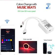 New Fantacy <b>Wifi</b> Smart <b>Music</b> Light <b>Controller Wireless Control</b> With ...