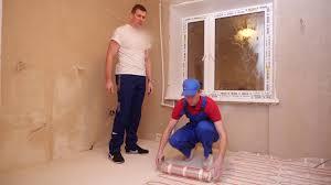 Установка <b>теплого пола Warmstad WSM</b> во всей квартире ...