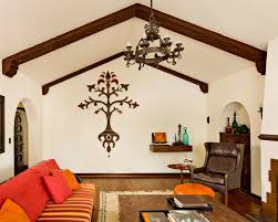 narrow living room mediterranean vaulted ceiling living room long narrow interior