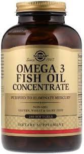 Solgar <b>Solgar</b>, <b>Omega-3 Fish</b> Oil Concentrate, 240 Softgels Price in ...