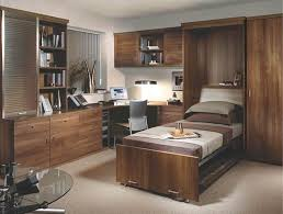 Fitted Wall Bed In Walnut