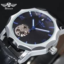 <b>Forsining Men's</b> Mechanical <b>Watches</b> with Automatic Wind Black ...