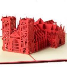 Бумажный <b>собор</b>   Киригами, Оригами, Открытки