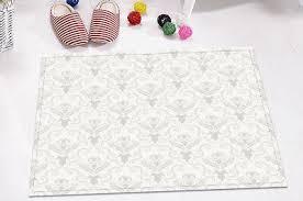 <b>Vintage Floral</b> Gothic <b>Skull</b> Non-Slip Bathroom Carpet Bath Mat Rug ...