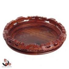 Red sandalwood rosewood carving <b>handicraft</b> circular base solid ...
