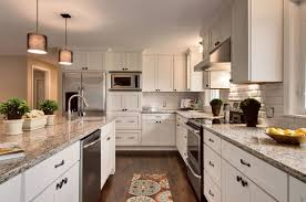 white kitchen remodel feature