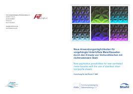 P 1040 - <b>New</b> application possibilities for <b>rear</b>-ventilated <b>metal</b> ...