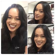 downtownsm makeup junkie sarah senior beauty advisor and makeup goddess christine