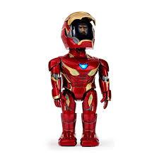 Робот <b>радиоуправляемый UBTech Iron</b> Man MK50 красный ...