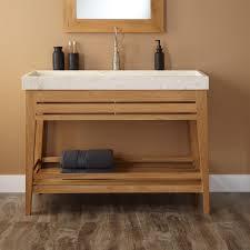 open bathroom vanity cabinet:  brilliant bathroom trough sinks for bathroom and simple unfinished wooden with unfinished bathroom cabinets