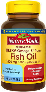 Nature Made Burp-Less Ultra Omega-3†† from Fish ... - Amazon.com