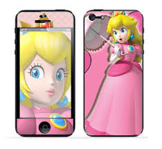 Mario Princess Peach Apple iPhone 5 Vinyl Skin Sticker. Mario Princess Peach Apple iPhone 5 Vinyl Skin Sticker - mario_princess_peach_apple_iphone_5_vinyl_skin_sticker_2a7564b6
