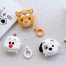 Cute 3D Lion Dog Snowman <b>Olaf</b> Cartoon Apple Airpod Case ...