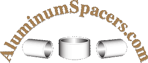 Aluminum Spacers, 15.88mm <b>Outer Diameter</b>, 10.2mm Hole, <b>5mm</b> ...