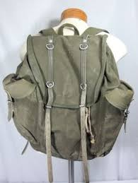 <b>Reclaimed Vintage Style</b> Military Fashion Pocketed Back Pack ...