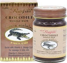 <b>Бальзам</b> Rasyan для <b>массажа с</b> крокодильим жиром( Crocodile ...