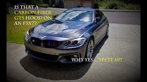 BMW F3X series full <b>carbon</b> fiber <b>GTS</b>/CS hood! <b>GTS style</b> on the ...