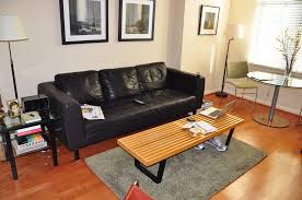 Of Living Rooms With Black Leather Furniture Leather Sofa For Small Living Room