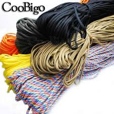 Parachute 550 Cord Rope Mil Spec Type III 7 Core Strand <b>Outdoor</b> ...
