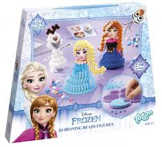 <b>Набор для творчества</b> Frozen 3D ironing beads figures <b>Totum</b> ...