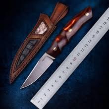 TURENZ-Full Tang 14C28N стальной <b>нож с фиксированным</b> ...