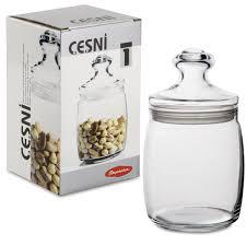 """Купить <b>Банка</b> с крышкой """"Cesni"""" для сыпучих <b>продуктов</b>, <b>1</b> шт ..."""