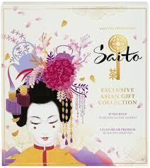 <b>Чай Saito Exclusive Asian</b> Gift Collection, 45 пакетиков — купить в ...