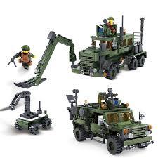 """<b>Конструктор KAZI</b> """"<b>Инженерные войска</b>"""" - 84039 – купить в ..."""