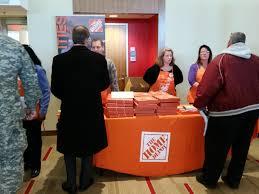 hire veterans military job fairs recruitmilitary home depot veteran job fair