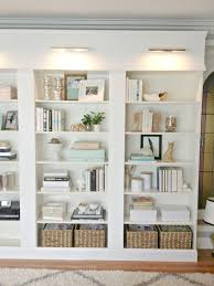 behind the scenes of my better homes and gardens shoot built in bookcases using ikea materials if you like this why not head on over to for more better homes and gardens lighting