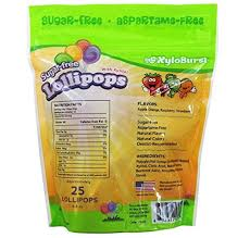 XyloBurst - <b>Sugar</b>-<b>Free Lollipops with Xylitol</b> Assorted Flavors - 25 ...