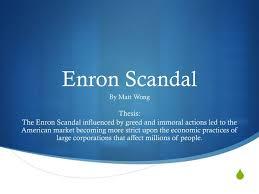 Enron Corp  Group   Andrew Beamon Brandon Hall Joseph Gasparini     StudentShare