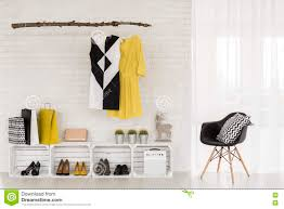 adequate storage space for trendy clothes and accessories adequate storage space