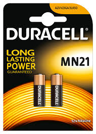 <b>MN21 DURACELL</b>, Battery, Plus Power, Pack of 2   Farnell