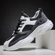 Men's Casual <b>fashion breathable mesh sneakers</b> – lukaoper