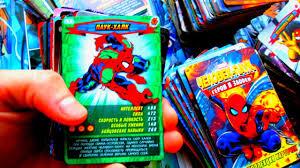 Карточки <b>Человек Паук</b> Герои и Злодеи - YouTube